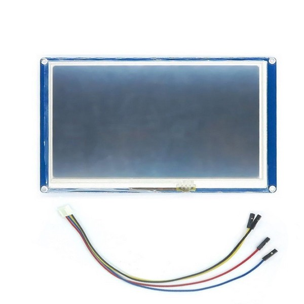 цена на 1PC 7.0 NX8048T070 HMI Intelligent Smart USART UART Serial Touch TFT LCD Module Display Panel For Raspberry Pi 2 A Demo Board
