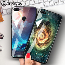 Space Case with Tempered Glass For Huawei