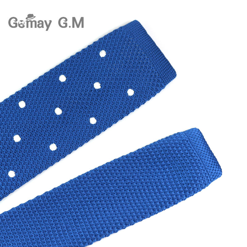 Corbatas finas tejidas de punto para hombres nuevos Corbatas de - Accesorios para la ropa - foto 6