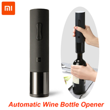 100% Xiaomi Huohou Automatic Red Wine Bottle Opener Electric Corkscrew Foil Cutter Cork Out Tool for Xiaomi Smart Home Kits