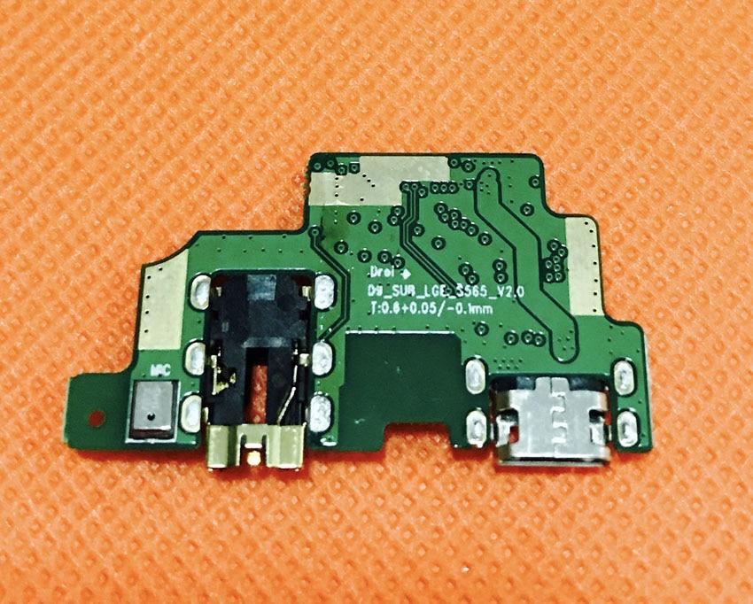 Original USB Plug Charge Board For LEAGOO T5 MTK6750T Octa Core 5.5Inch FHD Free Shipping