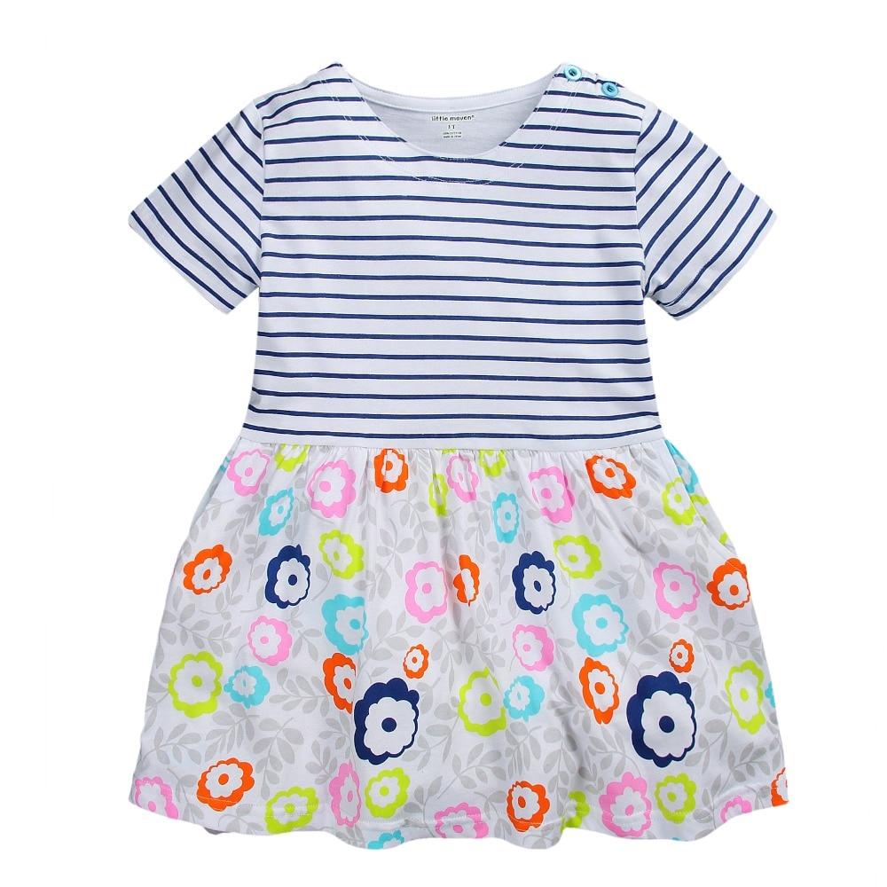 Aliexpress.com : Buy Summer Baby Girls Dress Kids Cotton Dresses ...