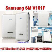 Unlocked Samsung SM-V101F 4G LTE Cat4 150Mbps Mobile WiFi router 4G modem PK HUAWEI E5573 E5575 E5770 цена в Москве и Питере