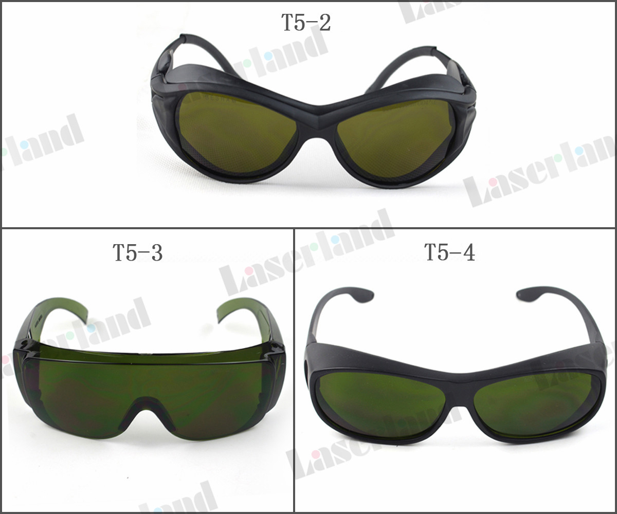 SK-5 980nm 1064nm ND:YAG 1070nm 1080nm 1100nm Fiber Laser OD4+ IR Infrared Laser Protective Goggles Safety Glasses CE