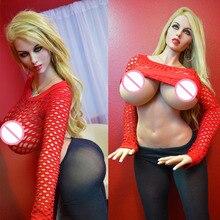 Высокое качество 170 см м чашка настоящие силиконовые секс-куклы огромная грудь, Большие задницы любовь куклы, японская Вагина настоящая киска сексуальная кукла