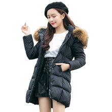 3XL Big Size Women Coat Winter Jacket Women Coat Jacket Long Cotton-Padded Parka Female Outerwear Thickening Female Women Jacket