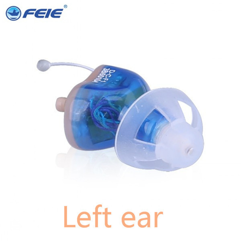 S-17A Telephone Hearing Aids CIC Invisible Hearing Amplifier Customs IIC 8 Channel For Tinnitus Ear Care Free Shipping acosound invisible cic hearing aid digital hearing aids programmable sound amplifiers ear care tools hearing device 210if