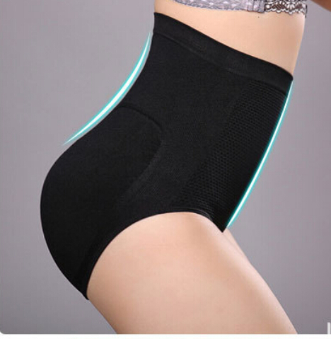 10pcs/lot free shipping woman nylon control panty Slim Seamless Shaping Pants Underwear high waist shapers