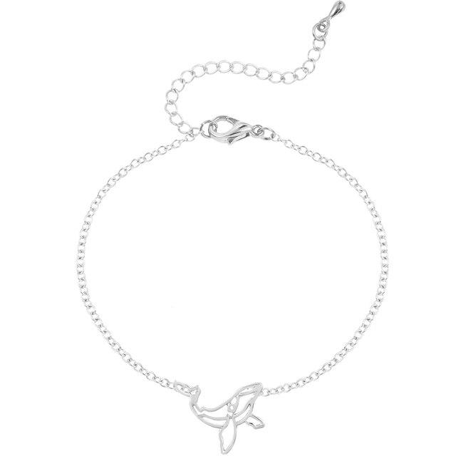Тоторова милый оригами КИТ женское ожерелье животное ювелирные