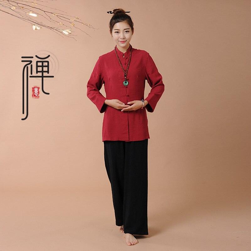 Tai Chi Uniform Cotton High Quality Wushu Kung Fu Clothing Kids Adults Martial Arts Wing Chun Suit Set Seni Bela Diri