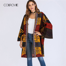TWOTWINSTYLE Women's Blazers Lace Up Tunic Cardigan Overcoat Pleated Pocket Long
