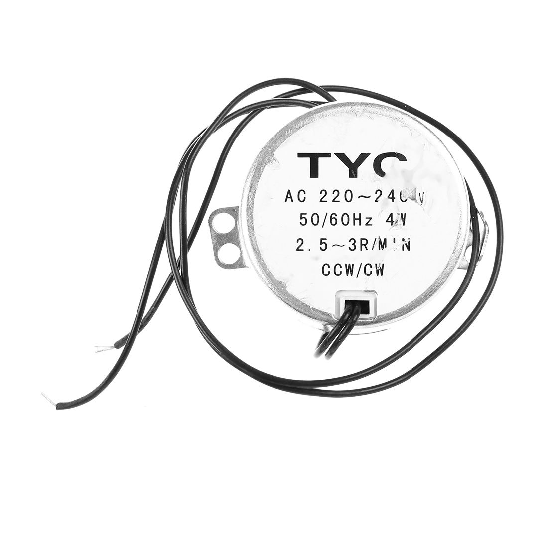 Tyc50 Ac Synchronous Motor 220v 3rpm 4w 8kgf Torque Ccw