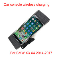 Car wireless charger for BMW X3 X 4 car phone holder car console charger Qi Wireless Charger BMW special wireless charging