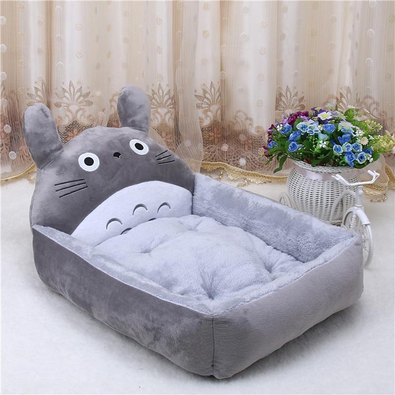 Cute Pet Dog Bed Mats Animal Cartoon Shaped Pet Sofa Kennels PP Cotton Warm Cat House Dog Pad Teddy Mats Big Blanket Supplies   1