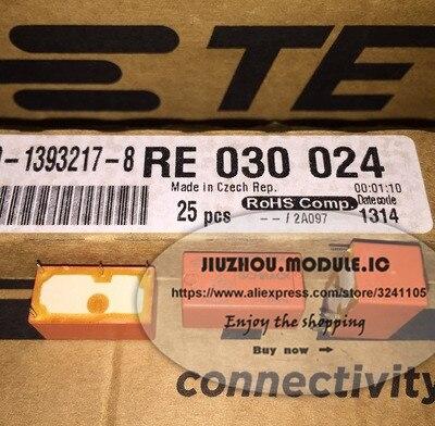 10PCS/LOT Free Shipping RE030024 24VDC 4 Feet  Relay