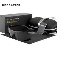 HDCRAFTER Polarized Sports Sunglasses Men Luxury Brand Driving Fishing Outdoor Goggles Sun Glasses Gafas oculos de sol masculino