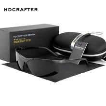 HDCRAFTER Polarized Sports Sunglasses Men Luxury Brand Driving Fishing Outdoor Goggles Sun Glasses Gafas oculos de sol masculino