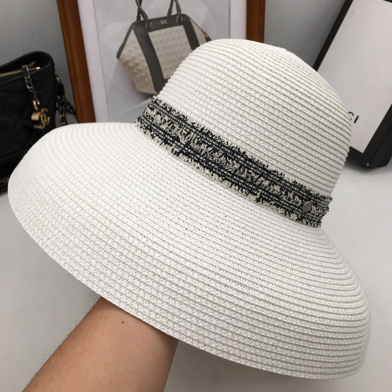 Sun Hats M standard Hepburn wind restoring ancient ways large eaves basin straw hat woman folding shade sunscreen cap hat