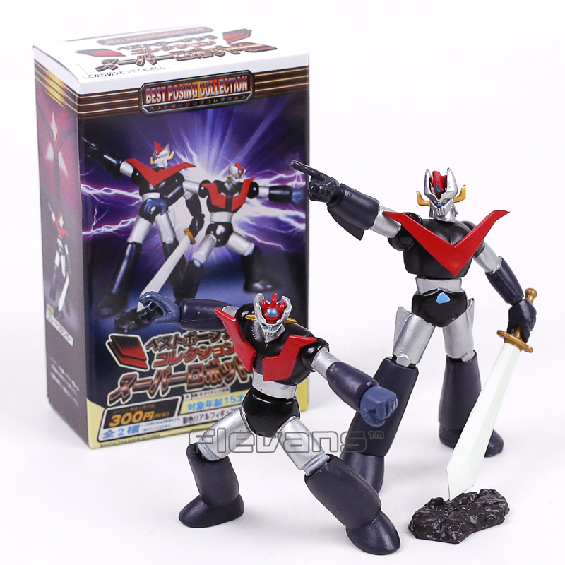 Anime Cartoon <font><b>Mazinger</b></font> <font><b>Z</b></font> Best Posing Collection PVC <font><b>Figures</b></font> Toys 2pcs/set 8~10cm image