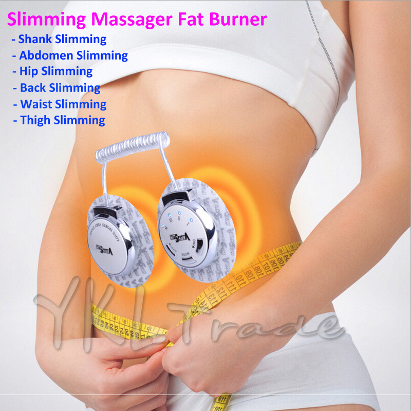 Vibration Slimming Products Lose Weight Burn Fat Body Slimming Massager Electric Pulses Massage Anti Cellulite Relax Therapy 3 days thin body cream slimming massager for anti cellulite abdomen buttocks legs waist full body weight loss burn fat products