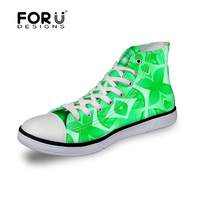 FORUDESIGNS Women High Canvas Shoes Brands Woman Breathable Casual Shoes Spring 2017 Ladies Walking Shoes Female