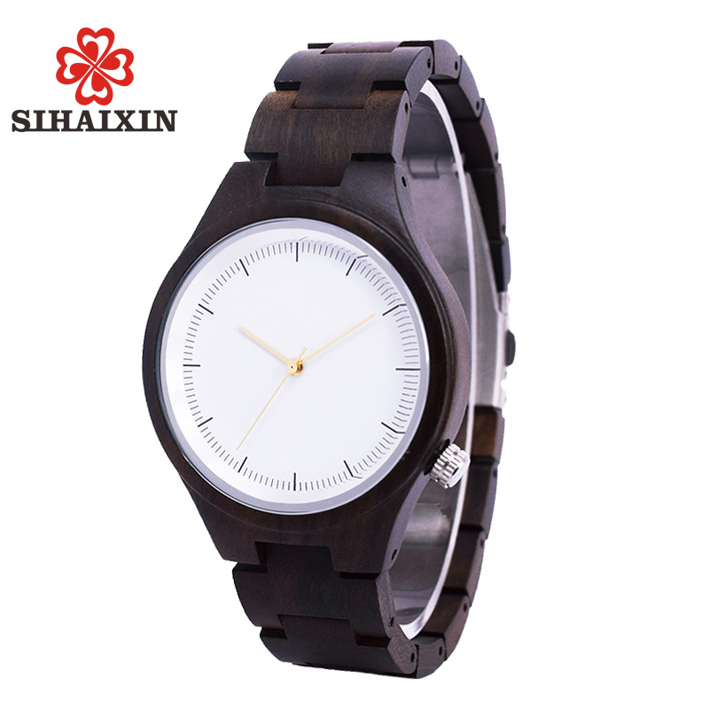 SIHAIXIN Bamboo Wooden Watch Women Top Brand Luxury Lady With Tool For Adjusting Size Natural Wood Clock Women Accept Customize 1pc top healthy organic bamboo wood natural wooden yoga brick training block exercise fitness gym practice tool