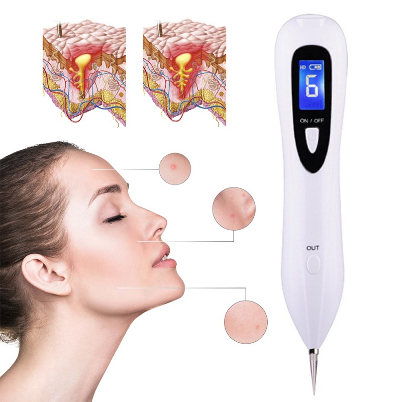 Beauty Removal Pen Tattoo Removers Easy and No Bleeding Freckles Pigmentation Spot Eraser Granulation Tissue Removing Tool