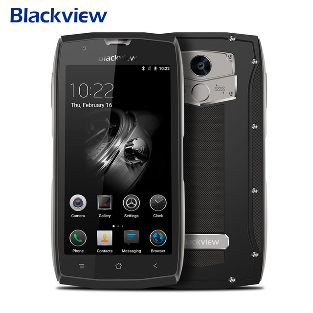 Blackview BV7000 Pro 4 г смартфон Android 6.0 4 ГБ ОЗУ 64 ГБ ROM MT6750T Octa core водонепроницаемый ударопрочный телефон 5.0-дюймовый FHD 13.0 м