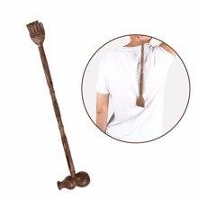 Традиционный Спиночес деревянный двойной заканчивается Релаксация тела массажер молоток для зуд помощи и крепкий натуральный Craft