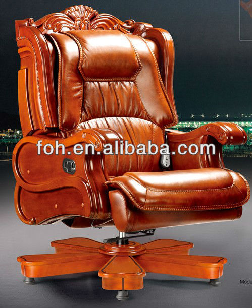 Luxury Leather Executive Office Chair Furniture Foha