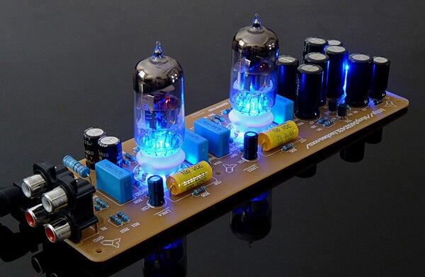 WZ-X10-D musique Fax ligne Piglet Tube électronique tampon biliaire 6N11 plaqué or PCB et panneau fini