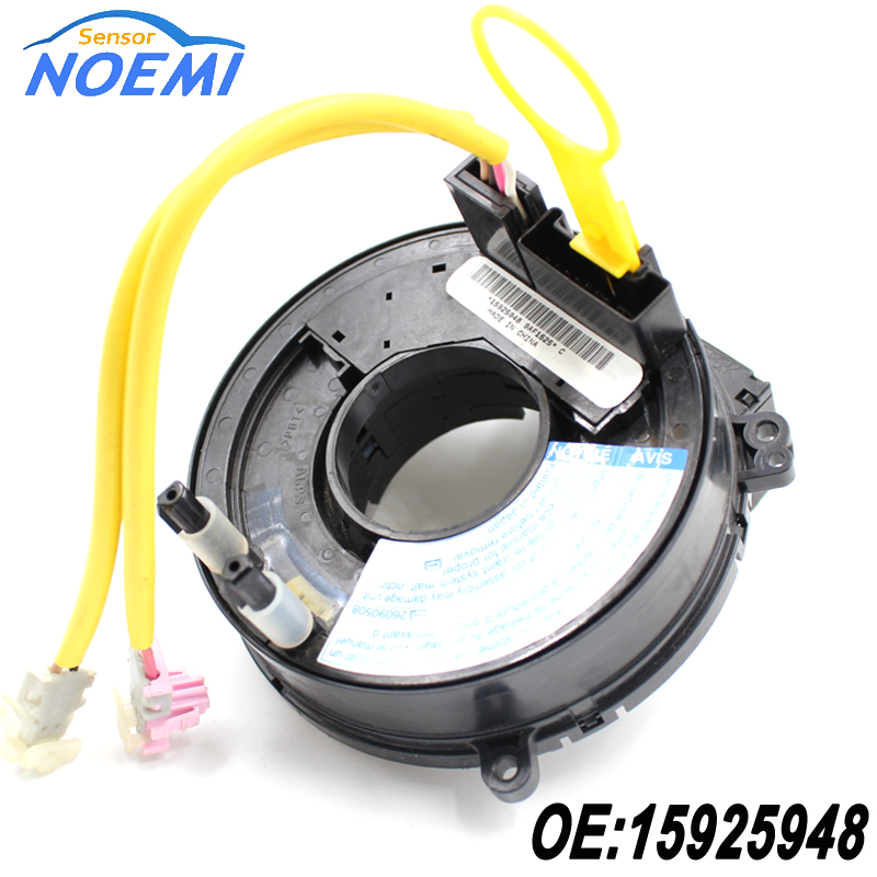 Free Shipping and Fast Delivery New Clock Spring Airbag Driver Wheel For Chevrolet Malibu 15925948 Auto