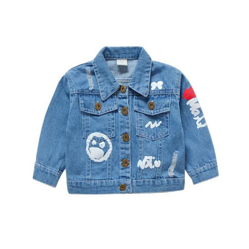 0ff0c2d59e5 JMFFY Baby Girls Clothes Jeans Coat Girls Jeans Jacket Denim Outerwear  Children s Clothing 2018 Girl Autumn Kids Outfits Buttons-in Jackets    Coats from ...