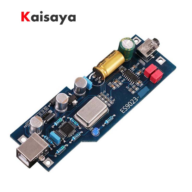 PCM2706 + ES9023 hifi fever level audio DAC sound expansion card noise floor is Zero USB OTG decoder free shipping A8-017-016
