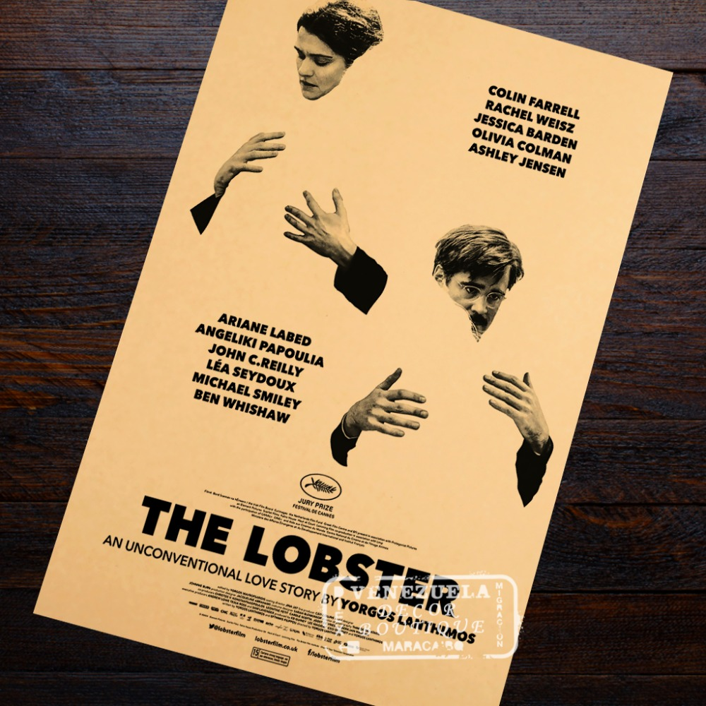 The Lobster Wallpaper Poster Decorative DIY Wall Canvas Painting ...