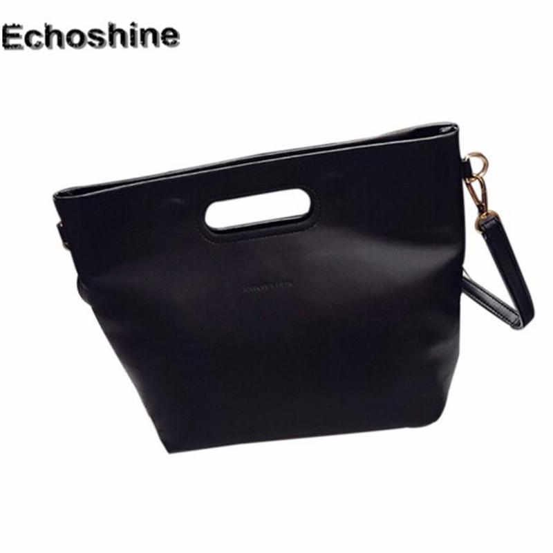 2016 high quality Fashion Women Simple Leather Handbag Cross Body Shoulder  Messenger Bag large toe travel 4c6780b84f120