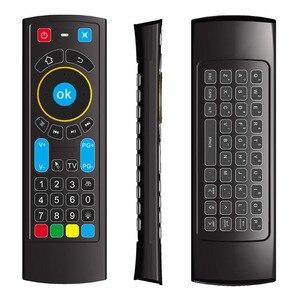 Image 4 - 2020 MX3L פרו תאורה אחורית אוויר עכבר IR למידה מרחוק בקרת MX3 2.4G RF אלחוטי מקלדת עבור X96 מיני H96 מקסימום אנדרואיד טלוויזיה תיבה