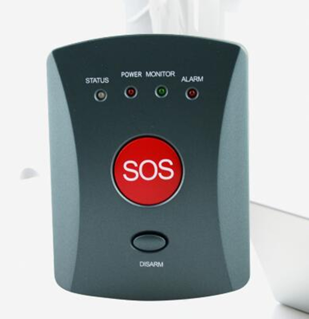 Купить с кэшбэком 433Mhz Wireless GSM Emergency Alarm SOS Button
