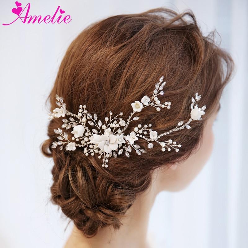 wedding hair ornaments rhinestone