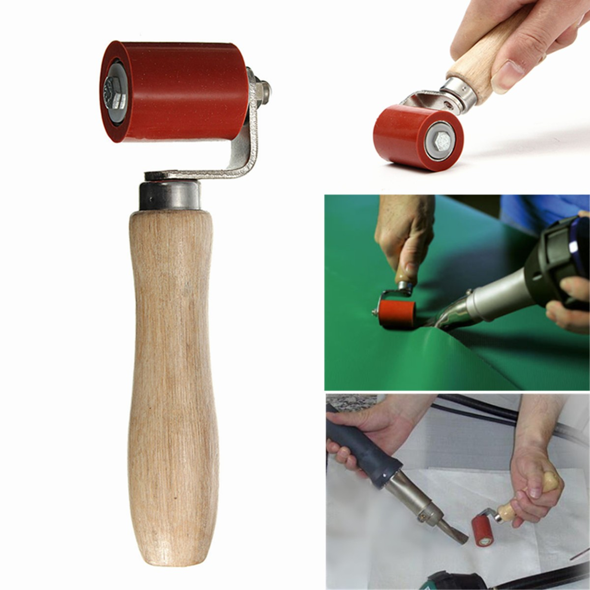 Neue Ankunft Silikon Kugellager Druck Naht Rollen Silica gel druck roller für Heiße Luft Kunststoff weldingun