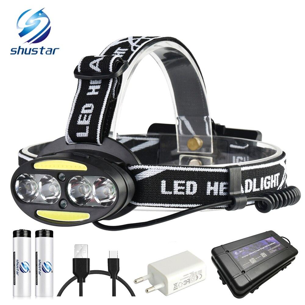 2pcs SolarStorm 8000 Lumen 2x T6 LED Front Bicycle Light Headlamp Headlight BP