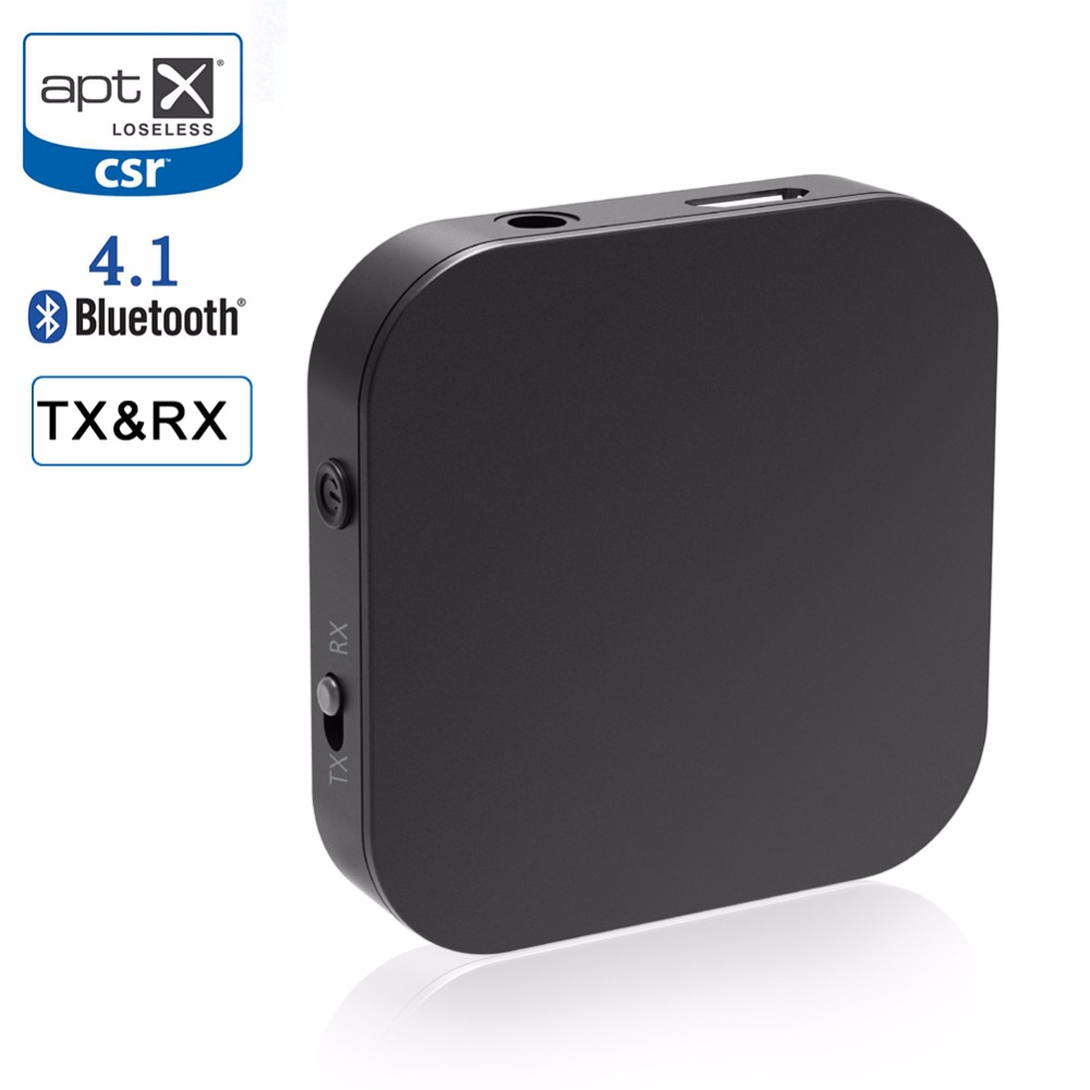 RIVERSONG Bluetooth Receiver Bluetooth Transmitter Portable Wireless Music Audio Adapter Aptx Low Latency Home Stereo System TV dl link 3 5mm mini bluetooth audio transmitter a2dp stereo transmitter transmite dongle adapter for tv ipod mp3 mp4 pc