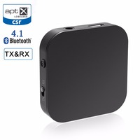 RIVERSONG Bluetooth Receiver Bluetooth Transmitter Portable Wireless Music Audio Adapter Aptx Low Latency Home Stereo System