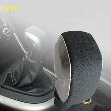 Gear Shift Knob Gear Handball For Peugeot 307 301 206 207 408 308 508 2008 3008 C4L C2 Citroen C-Quatre C-Triomphe Elysee MT
