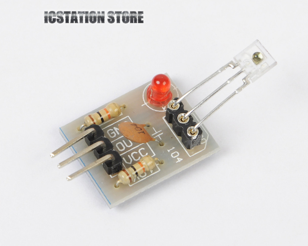 Non-modulated Laser Recevier Sensor Module Relay Switch High Level Low Level for Arduino 5V 1pcs current detection sensor module 50a ac short circuit protection dc5v relay