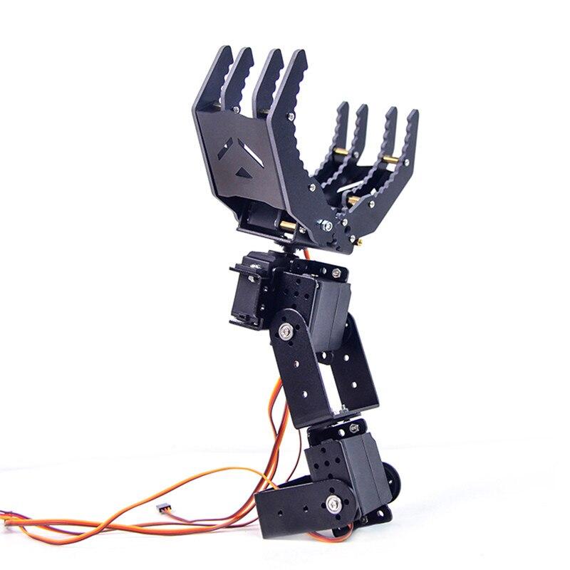 XIAO R 4 DOF Braccio del Robot di Manipolazione Grob Pinza Rotazione di 180 Gradi Con 995 ServoXIAO R 4 DOF Braccio del Robot di Manipolazione Grob Pinza Rotazione di 180 Gradi Con 995 Servo