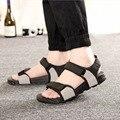 Men's sandals sandals 2016 new outdoor summer casual Korean version of the influx of men