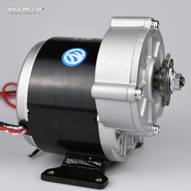 350W 24V 36V DC Brushed Motor Electric Bicycle Motor Escooter Ebike Electric Tricycle Bicycle Motor Kit