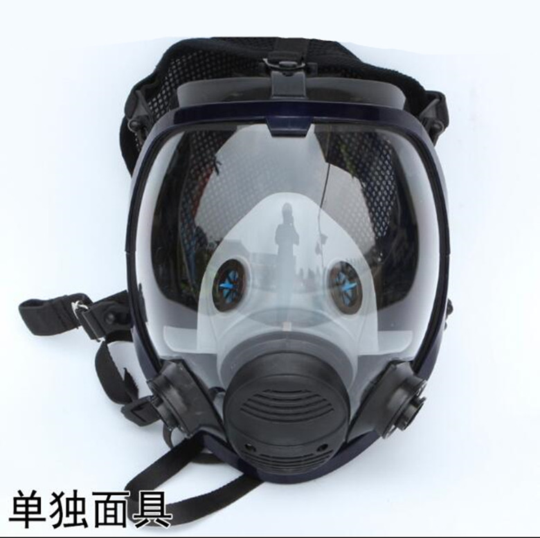 Full Face Mask For 6800 Gas Mask Facepiece Respirator For Painting Spraying free shipping