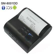 새로운 80mm 미니 모바일 휴대용 열 영수증 프린터 안드로이드 4.2.2 블루투스 4.0 프린터 미니 안드로이드 프린터 무료 sdk